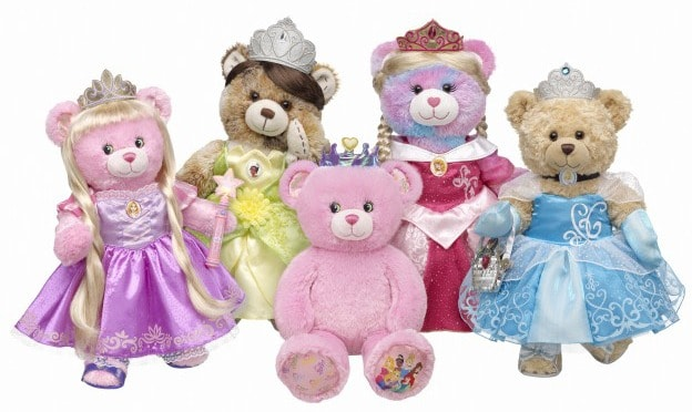 build-a-bear-disney-princess-bears