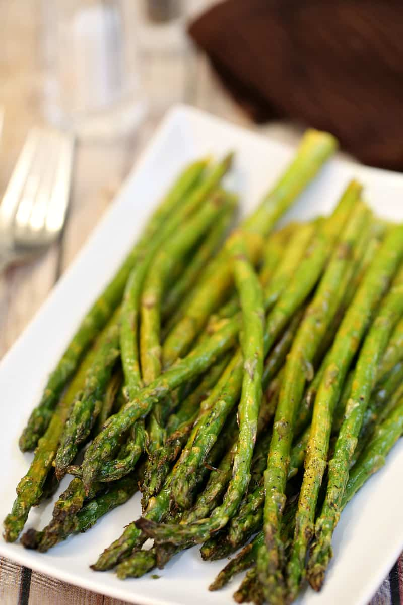 lemon pepper asparagus