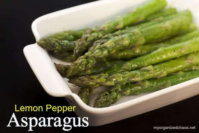 lemon pepper asparagus recipe