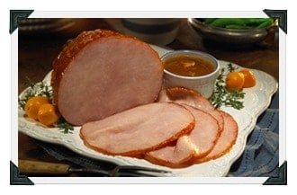 marmalade glazed Ham recipe