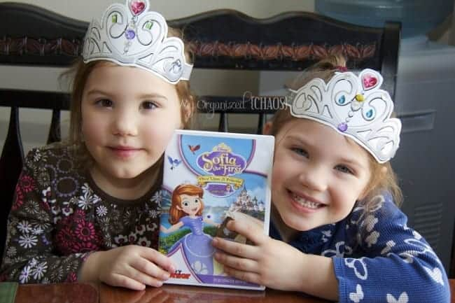 sofia the first dvd review myorganizedchaos