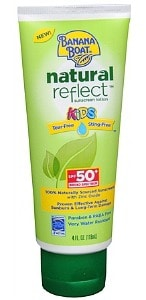 Banana Boat Natural Reflect Kids Sunscreen Lotion