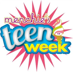 Menchie's Teen Week Logo