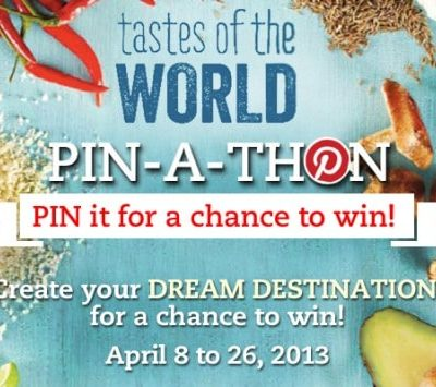Sobeys Tastes of the World Pinathon, Win $100 Sobeys GC's!