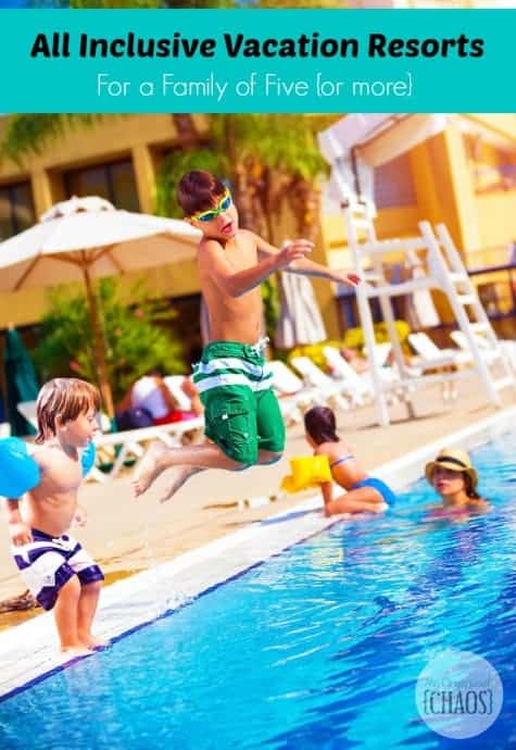 All Inclusive Vacation Resorts For A Family Of Five Or More