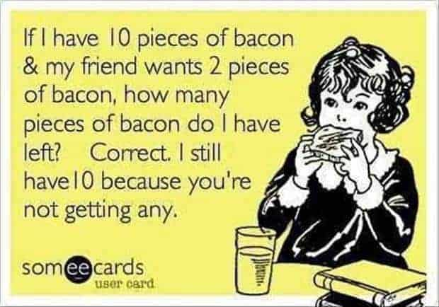 bacon twitter party