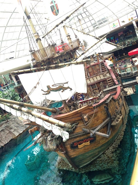 santa maria at west edmonton mall canada
