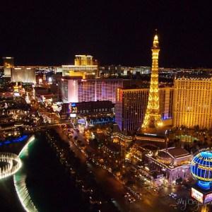 Vegas Skyline: by Day, by Night