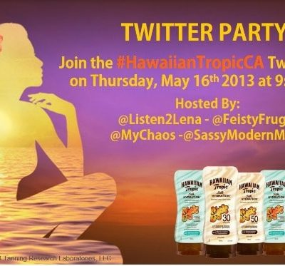 #HawaiianTropicCA Twitter Party