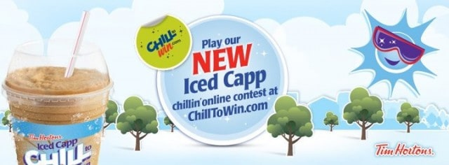 chill to win contest tim hortons