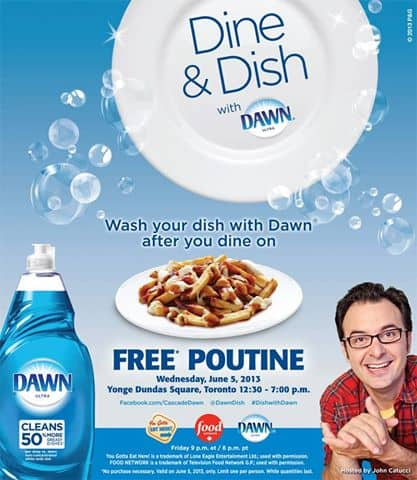 dine and dish with dawn