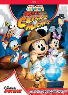 quest for crystal mickey dvd review