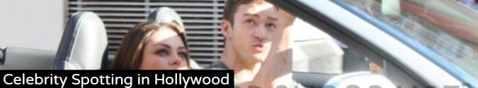 Celebrity Spotting in Hollywood
