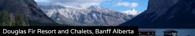 Douglas Fir Resort and Chalets Banff Alberta