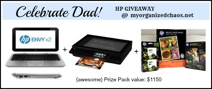 HP giveaway myorganizedchaos