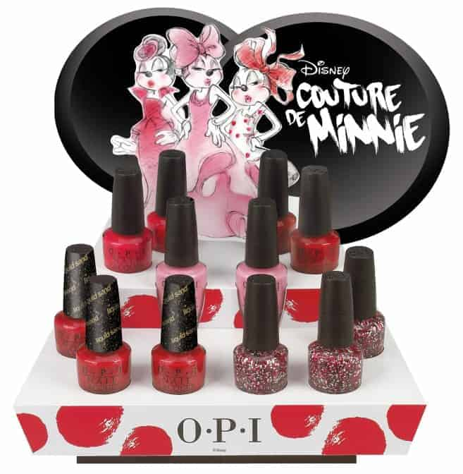 OPI Couture de Minnie Nail Lacquer Collection