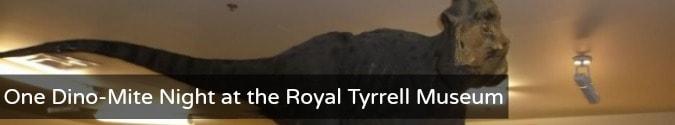 Royal Tyrrell Museum Alberta Canada