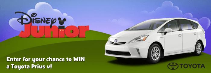 Toyota Prius v Disney Junior contest