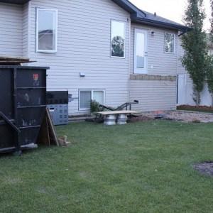 Backyard Renovation: Deck is Demolished!