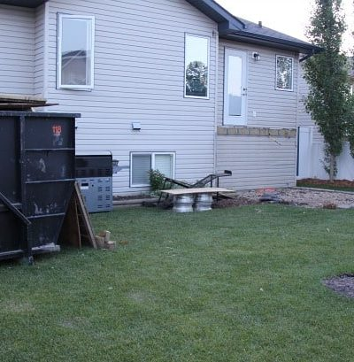 Backyard Renovation: Deck is Demolished!
