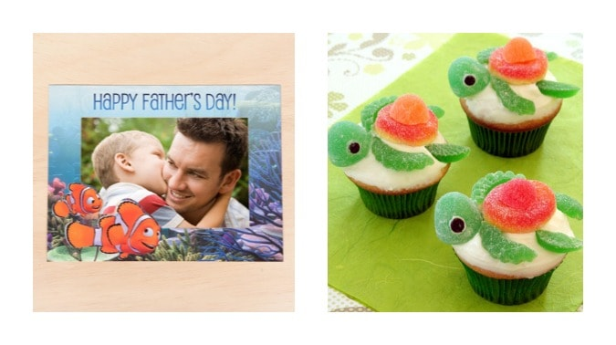 finding nemo printable cards cupcakes