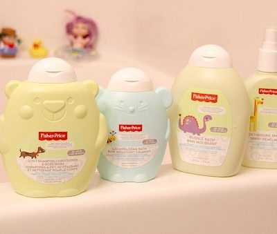 New Fisher-Price Bath and Body Products