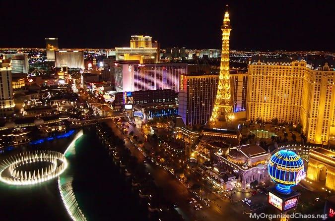 Vegas Strip by Night