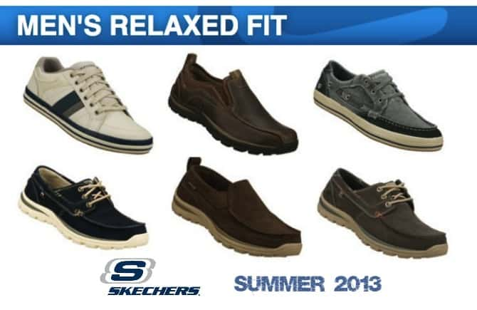 skechers Mens relaxed fit shoes