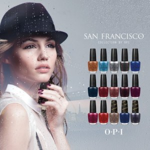 Taking in San Francisco with a New OPI Collection!