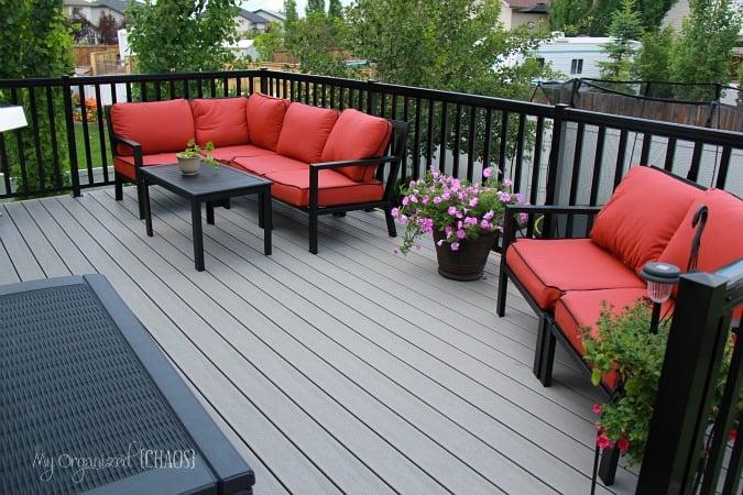 backyard renovation new deck alberta
