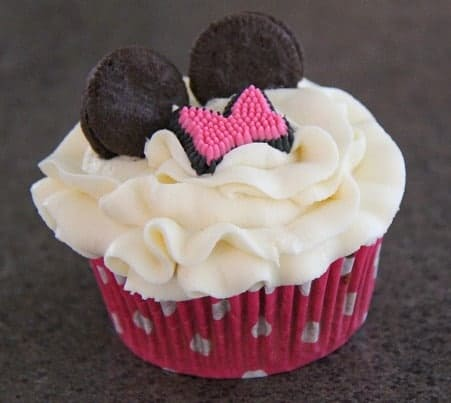 minnie mouse birthday cupcakes twin birthday