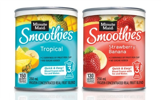 minute maid smoothies canada