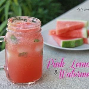 Pink Lemonade & Watermelon Fizz