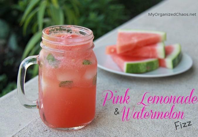 pink lemonade watermelon fizz #celebratesummer