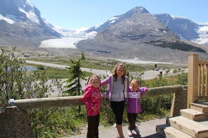 Columbia Icefield Glacier Adventure family travel myorganizedchaos