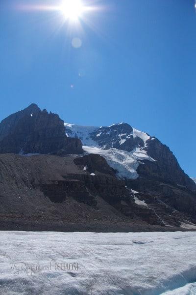 Columbia Icefield Glacier jasper myorganizedchaos