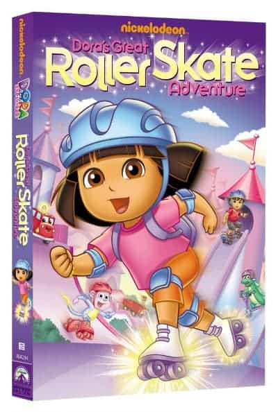 Dora_RollerSkate_DVD_review_giveaway