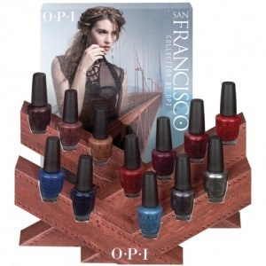 New OPI San Francisco Collection