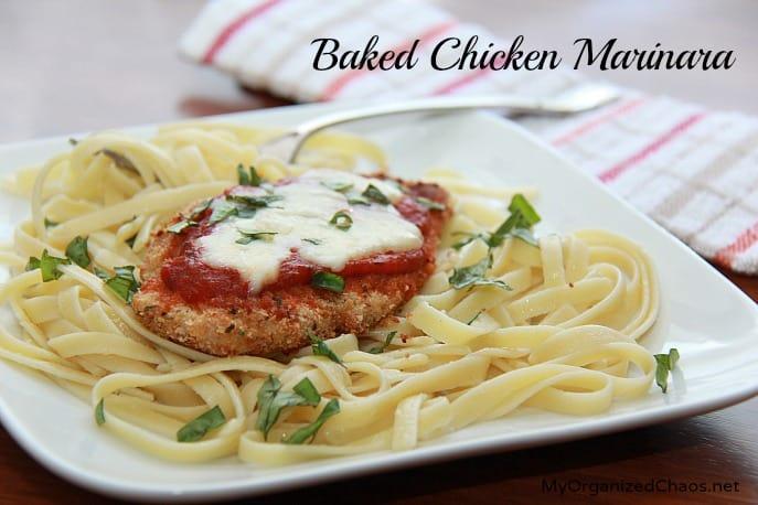 baked chicken marinara recipe