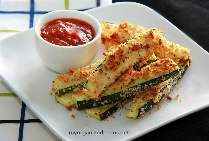Baked Zucchini Fries - My Organized Chaos