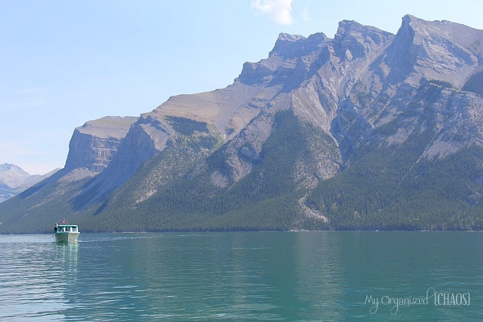 banff lake cruise minnewanka travel alberta