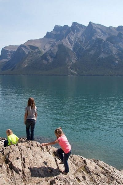 Family Travel: Banff Lake Cruise on Lake Minnewanka