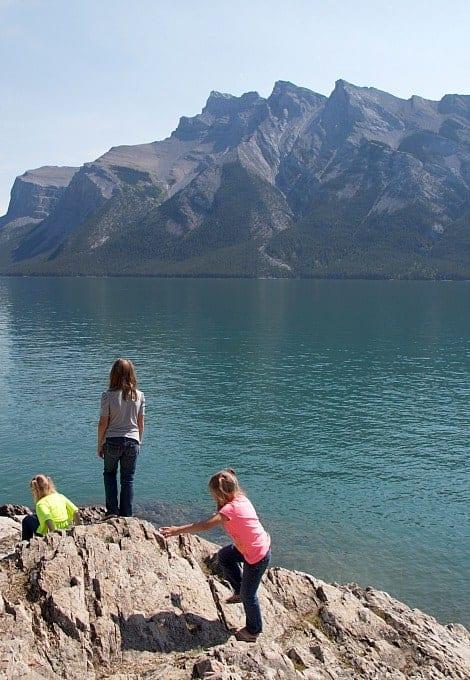 banff lake minnewanka boat cruise family travel myorganizedchaos