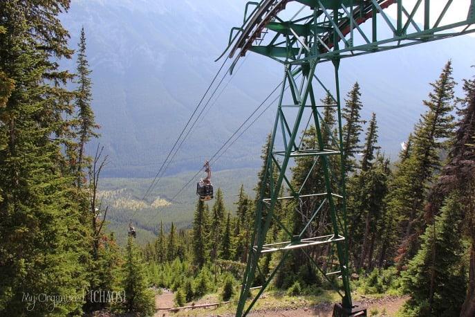 banff sulphur mountain gondola myorganizedchaos