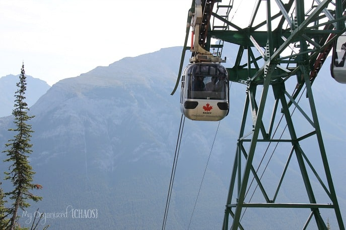 banff sulphur moutain gondola