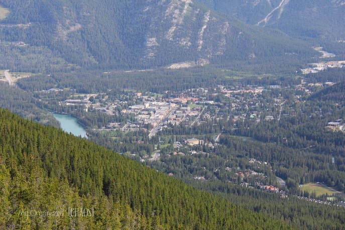 banff town sulphur mountain gondola tour