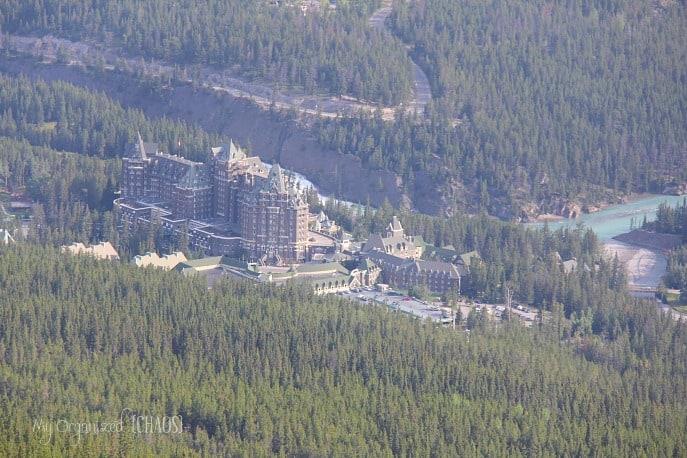 fairmont banff springs hotel sulphur mountain myorganizedchaos