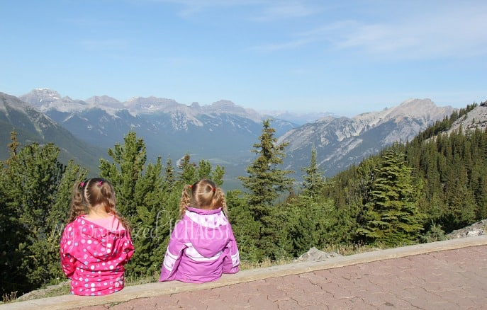 family travel banff alberta