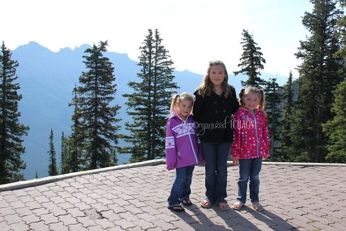 family travel banff sulphur mountain