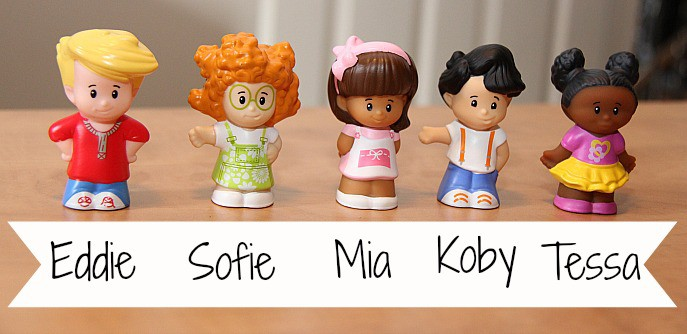 fisher price new little people characters